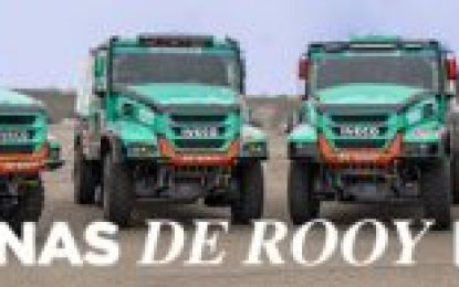 Troublesome Day 4 for Petronas Team De Rooy Iveco