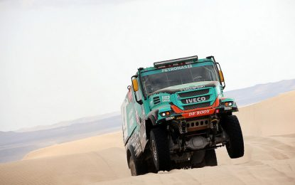 Dakar Stage 3: Disaster for Team Petronas Iveco De Rooy