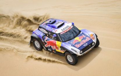 Challenging Dakar 2019 Mini JCW Buggy Works Team
