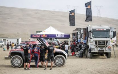 2019 Dakar Rally SS1: All MINI John Cooper Works Buggies in top 10