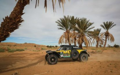 Day 2 report AFRICA ECO RACE 2019