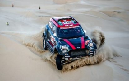 Dakar Rally SS2: 2nd for Nani Roma in MINI JCW Rally
