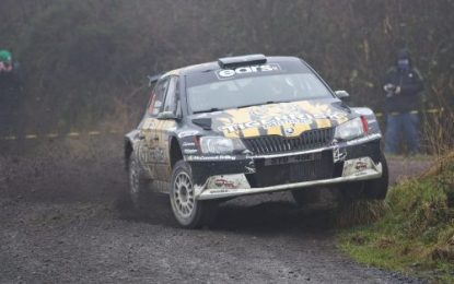 McCormack & Mitchell conquer Willie Loughman Memorial Forestry Rally