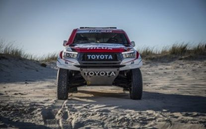 Toyota Gazoo Racing in control at Dakar 2019 halfway point