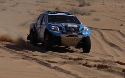 Al-Dossari (SAU)/ Obaid (ARE) win 14th Ha'il Nissan International Rally in Nissan Navara