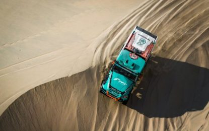 Confusion about Petronas Team De Rooy Iveco results after SS5 Dakar