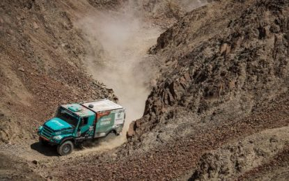 Third win in a row for Team PETRONAS De Rooy IVECO on SS7 Dakar