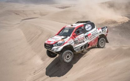 Third Dakar win for Nasser Saleh Al-Attiyah & First victory for Gazoo Racing Toyota Hilux