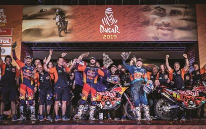 Toby Price wins 2019 Dakar Rally for Red Bull KTM Factory Racing