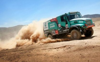 Dakar Rally podium finish for Team De Rooy with all 4 trucks in the top 10 on Goodyear truck tyres
