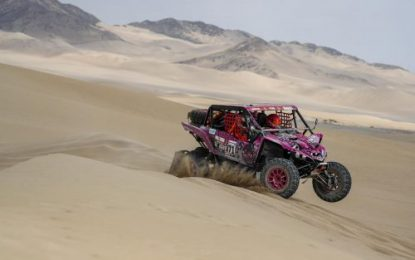 Qatar's Nasser Saleh Al-Attiyah & Matthieu Baumel extend lead in Manateq Qatar Cross-Country Rally