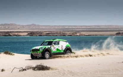 4th best for Mini All4 Racing at Manteq Qatar Cross Country Rally