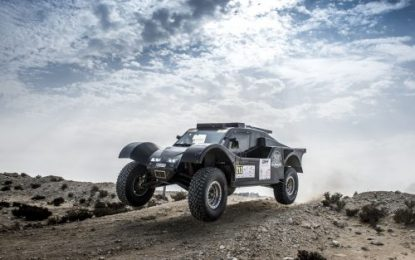 Al-Attiyah & Baumel continue to lead Manateq Qatar Cross-Country Rally