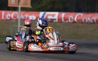Irish Kart Racing Star Alex Dunne shines in Italy