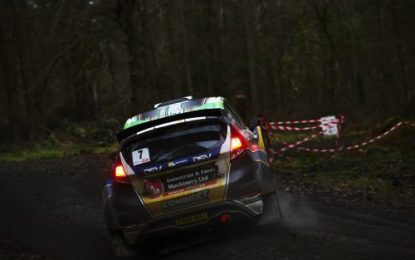 Josh Moffett & Andy Hayes take Triton Showers National Rally Championship