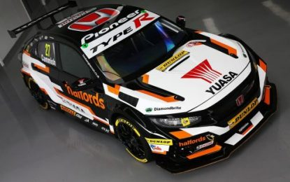 Halfords Yuasa Racing launches 2019 Honda Civic Type R for BTCC