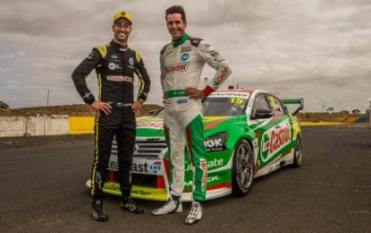 F1 star Daniel Ricciardo samples Oz Castrol Supercar