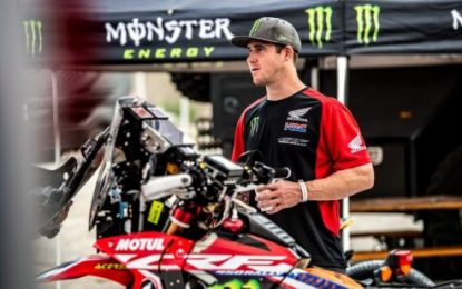 Monster Energy Honda Team rider Brabec ready for Sonora Rally