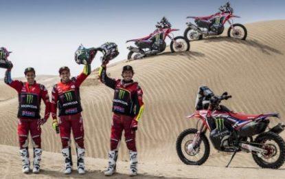 Monster Energy Honda Team – all set for the Abu Dhabi Desert Challenge