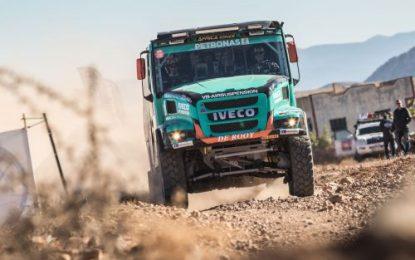 Petronas Team De Rooy Iveco's van Genugten to start in Morocco Desert Challenge