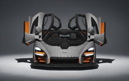 Full-scale LEGO McLaren Senna built!