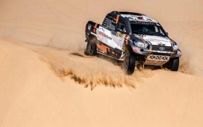 4th & 8th for Overdrive Racing on 2019 Dubai International Baja