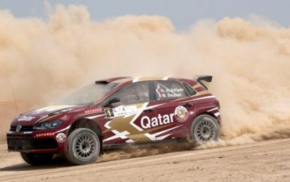 Al-Attiyah's dominant debut in new Volkswagen Polo GTI R5 at 2019 Manateq Qatar International Rally