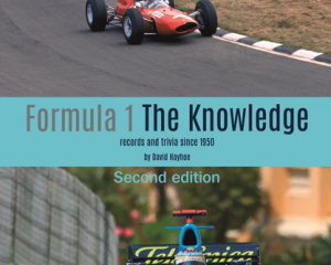 Formula 1 The Knowledge – Second edition in print