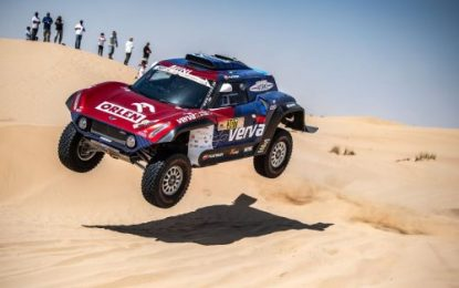 Przygonski claims maiden win for MINI JCW Buggy at Dubai International Baja: