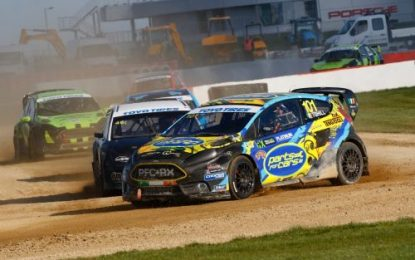 Solid 2nd place for Tohill in return to British RX at Silverstone