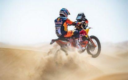 KTMs Sam Sunderland fastest on Day 1 Abu Dhabi Desert Challenge