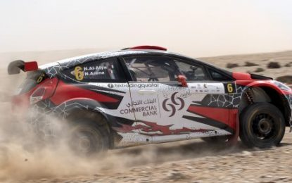Top entry for Jordan Rally 2019 FIA Middle East Rally Championship, Rd2