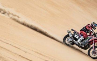 Podium for Honda's Nacho Cornejo at Abu Dhabi Desert Challenge