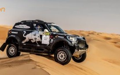 Abu Dhabi Desert Challenge: Stéphane & Andrea Peterhansel win with MINI JCW Rally
