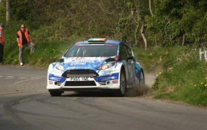 Breen strengthens 2019 Irish Tarmac Rally Championship hopes with Wastewater Solutions UAC Easter Stages Rally win