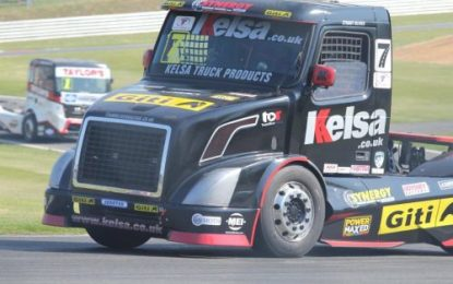 Team Oliver Racing at Brands – 1st round of 2019 British Truck Racing Championship