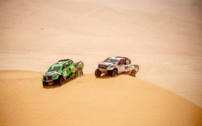 Overdrive Racing makes podium on Abu Dhabi Desert Challenge