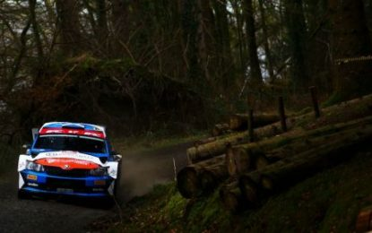 Fortune favours the brave as BRC speeds into Kielder Forest