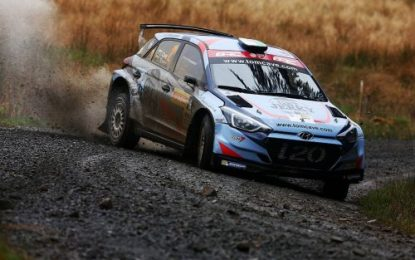 Cave digs deep to win Rd 3 British Rally Championship – the Pirelli International Rally