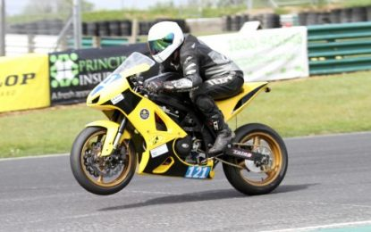 Gillian returns to podium at Dunlop Mondello Masters Superbike Championship