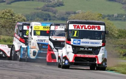 Ryan Smith powers to Pembrey Division 1 hat-trick in the MV Commercial BTRA Championship