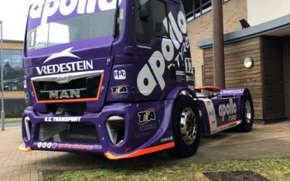 TOR TRUCK RACING truck in Apollo Tyres livery unveiled at Truckfest