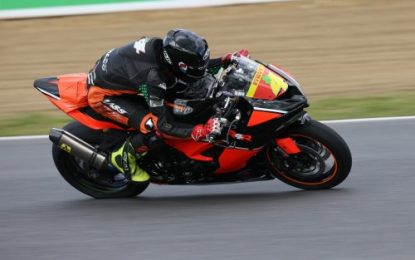 BSB Podium for Young Racer of the Year Caolán Irwin