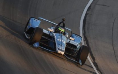 Daly finishes 11th from 19th in the Indycar DXC Technology 600
