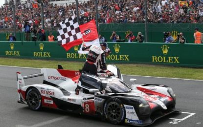 MOBIL 1 powers Toyota to Victory in Le Mans 2019