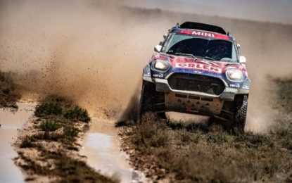 Rally Kazakhstan: Nasser wins, 2 podiums for MINI X-raid