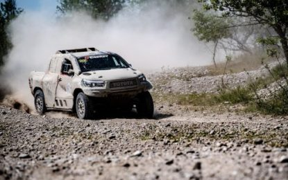 2nd place finish for Overdrive Racing Toyota Hilux at Baja Italia