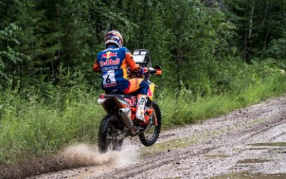 Strong start fro Red Bull KTM on Silk Way Rally