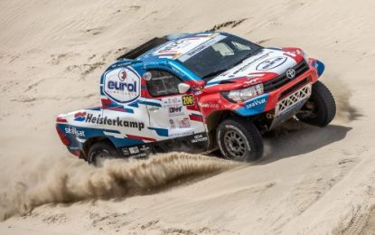 Overdrive Racing heads to Siberia for Silk Way Rally 2019