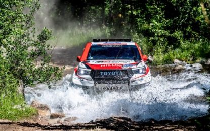 Another big Cross-Country win for Toyota Gazoo Racing South Africa on the 2019 Silk Way Rally